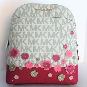 8f07f1875411 Michael Kors Bags - Michael Kors Emmy Small Backpack - Pink Floral NWT